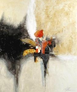 Linda-laflamme-toile-art-feu-orange-brulee