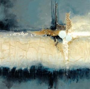 Linda-laflamme-toile-art-ciel-chateau-bleu-nuit