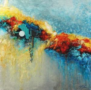 Linda-laflamme-toile-art-ciel-magie-nuages