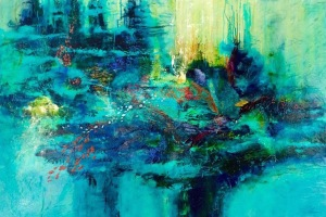 Linda-laflamme-toile-art-eau-fonds-marins