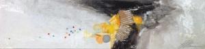 Linda-laflamme-toile-art-saison-colere-noire-jaune
